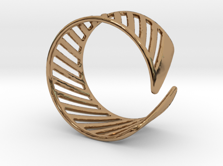 Shutter Ring - Size 8 3d printed