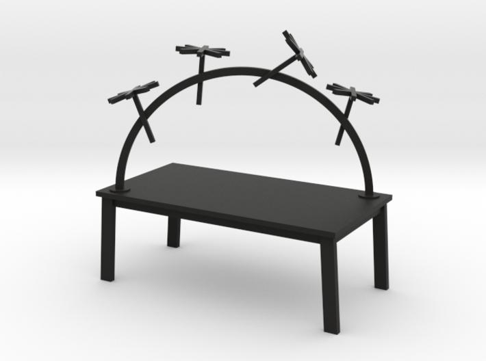 RAINBOW TABLE - TRAVELER by RJW Elsinga 1:12 3d printed