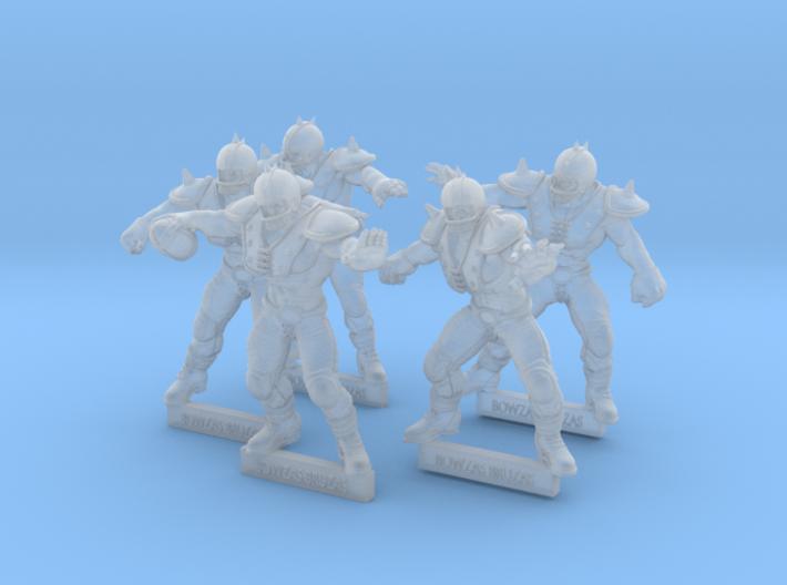 Bowzas Bruzas Booster 3d printed