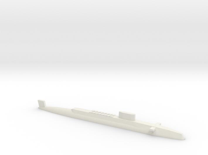 HMS Resolution SSBN, 1/1800 3d printed
