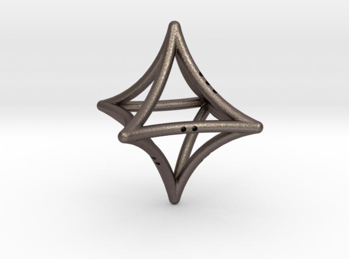 Concave Octahedron 3d printed