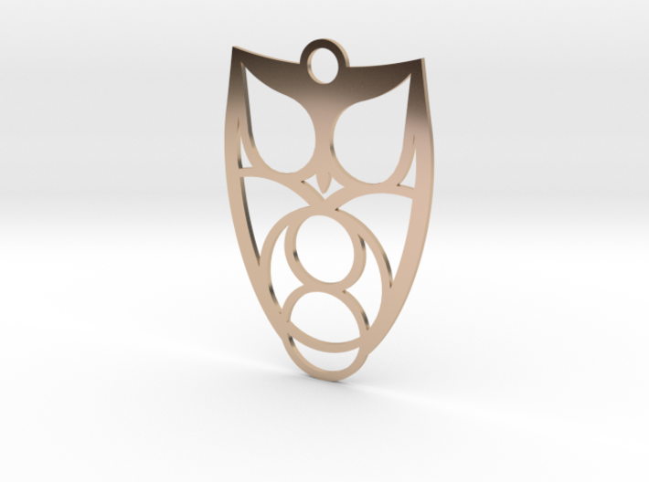 Owl #1 (thin version) 3d printed