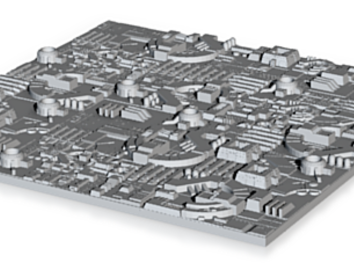 1/2256 Death Star Tiles 3d printed