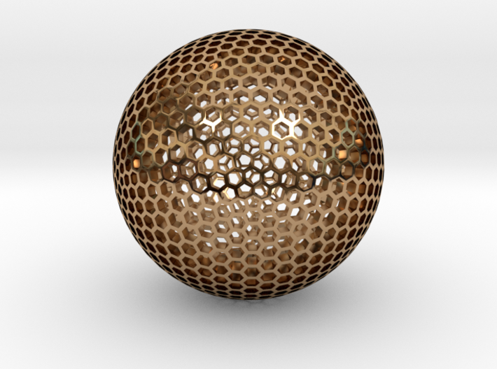 Goldberg Sphere 3d printed
