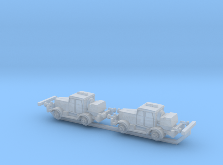 German Hanomag SS100 Rail-Truck 1/285 6mm 3d printed