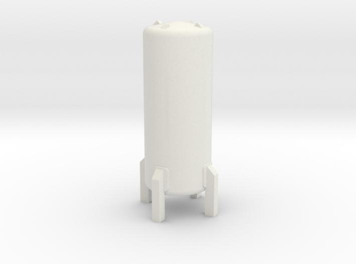 N Scale Cryogenic Tank 28mm 3d printed