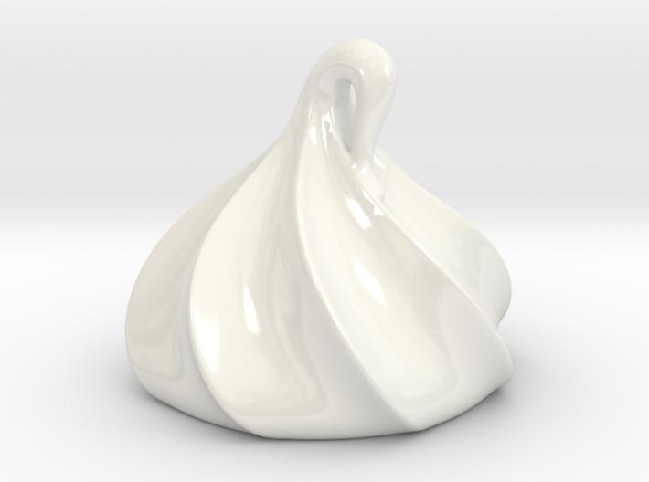 Meringue Dollop Figurine 3d printed