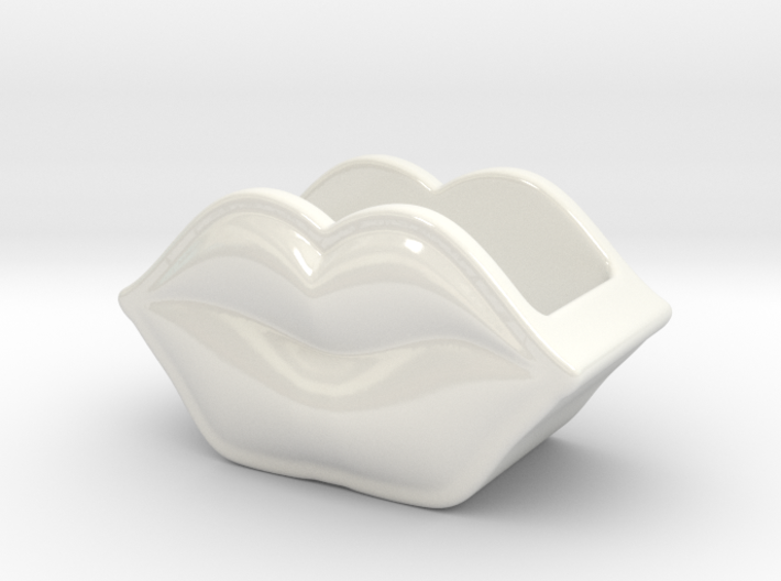 Mini Lips Container 3d printed