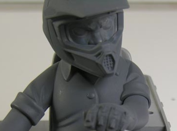WW10002 Wild Willy Moto Face 3d printed