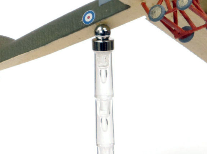 Magnet Locators (bomber pegs) x15 3d printed NB: This is a photo of a fighter-sized locator peg and gimbal mount, not the bomber size, to illustrate the principle.