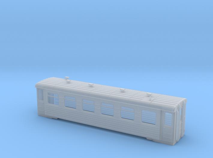 OO9 (1:76) - PV40 - Soviet 750mm Gauge Coach 3d printed