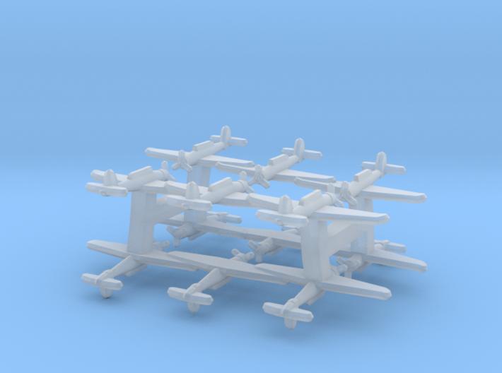 Blackburn Skua (Triplet) 1:900 x4 3d printed