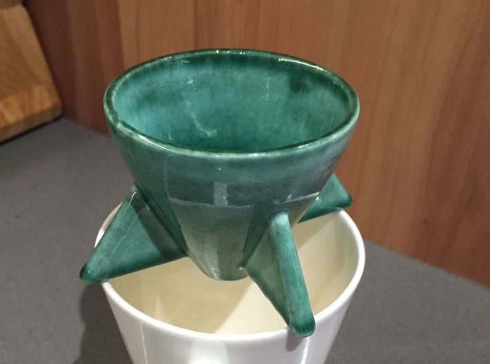 Rocket pour over coffee maker 3d printed