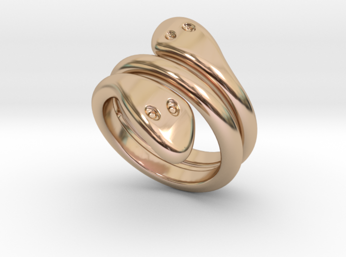 Ring Cobra 32 - Italian Size 32 3d printed
