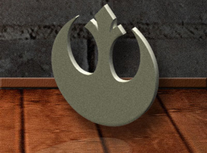 Rebel-Alliance Pendant 3d printed