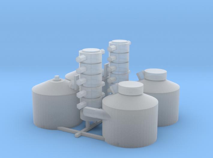Dry Sump Kit 2 Pk 3d printed