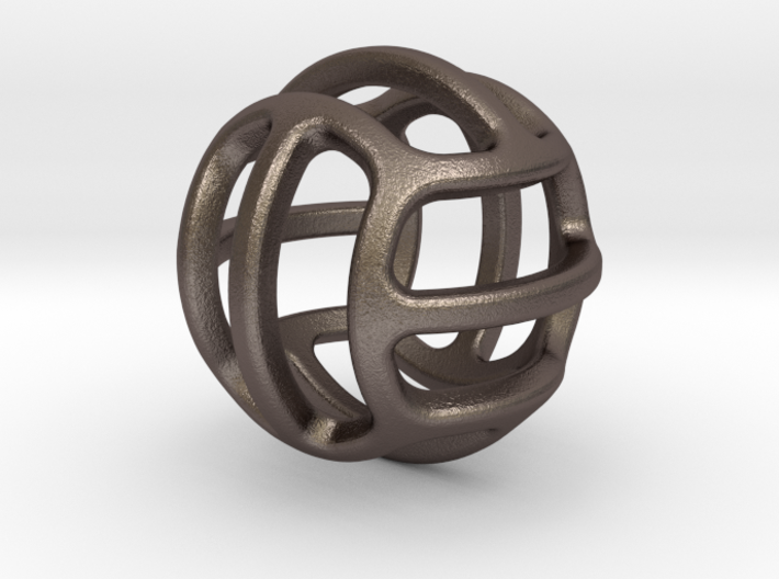 iFTBL All Time 3d printed Stainless Steel / For other materials and prices... please click on material icons.