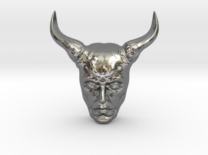 DevilPendant 3d printed