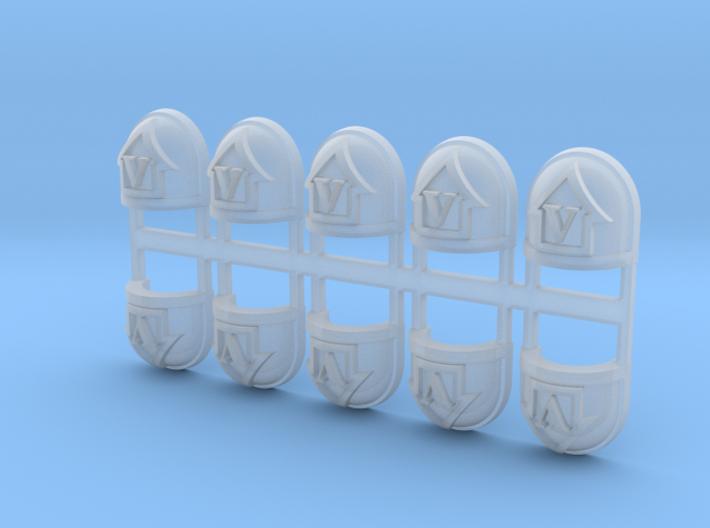 UltraTactical 05b - Standard Shoulder x10 3d printed