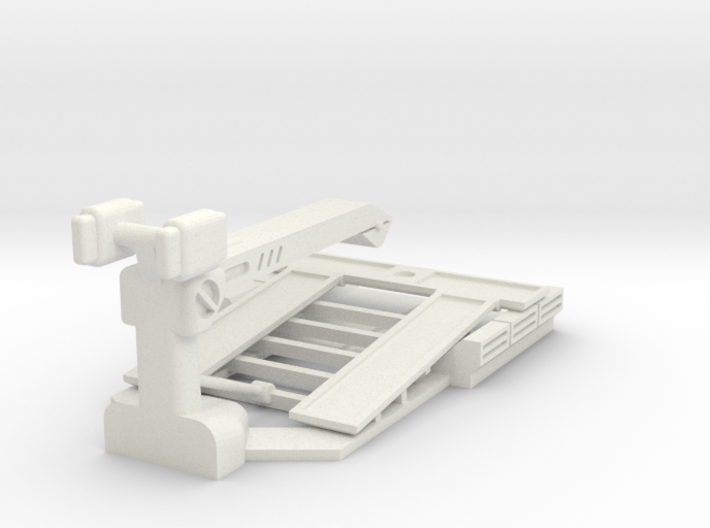 AC05A S43 Tow Truck Bed (28mm) 3d printed