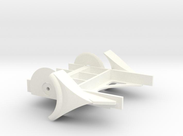 Wheel Hugger Engine 252 3d printed