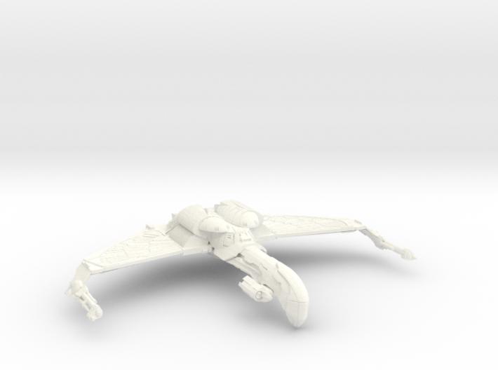 Romulan Bird Of War ScoutCruiser 3d printed