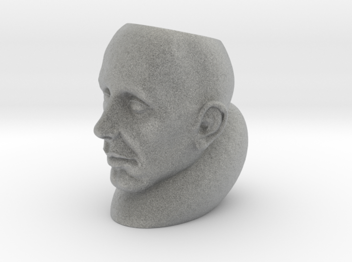 StoneFace Hollow 3d printed