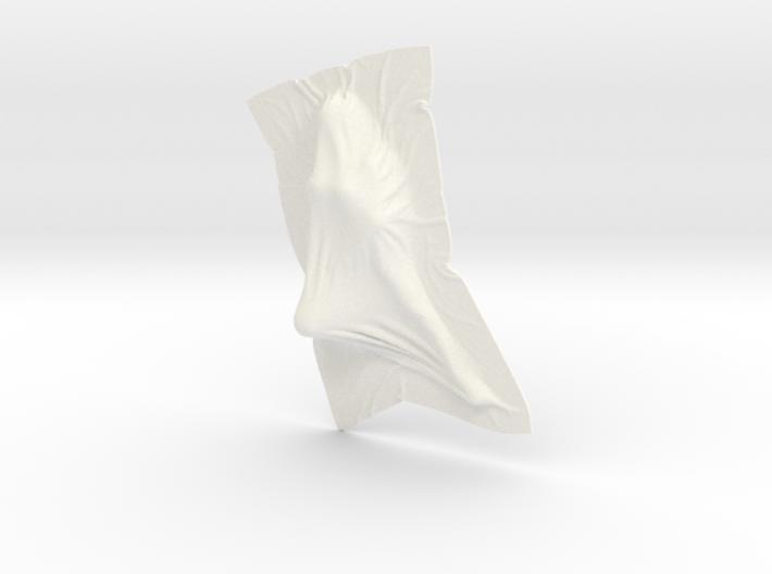 Shroud shape penholder 008 3d printed