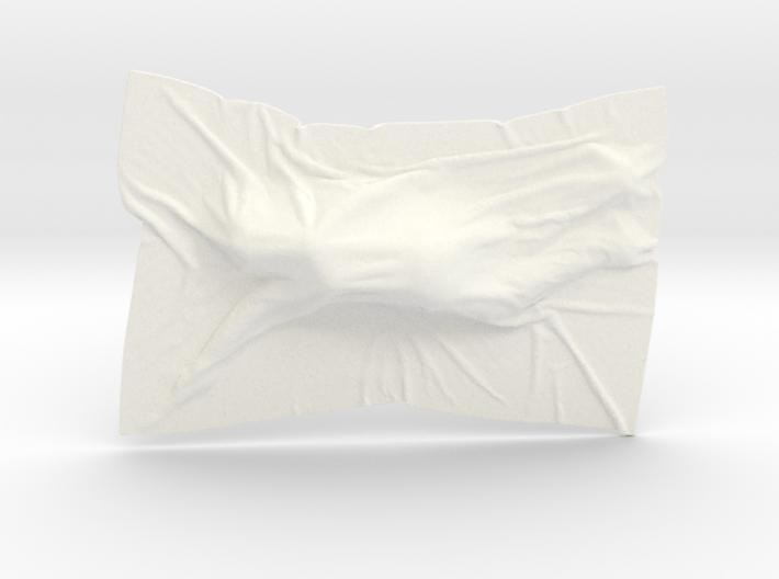 Shroud shape penholder 010 3d printed