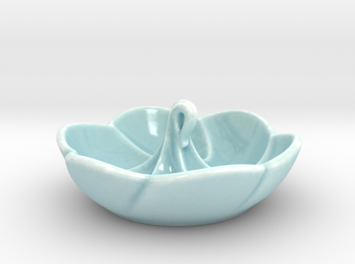 Meringue Ring Dish 3d printed