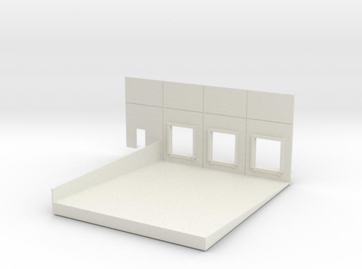 Left End Dock #2 Load In 3d printed