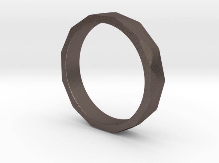 Iron Ring Size 4.5 3d printed