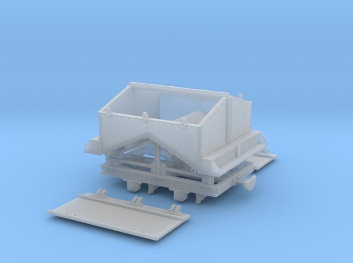 Feldbahn Kohlelore Spur 0e/0f 3d printed
