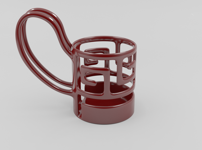 A Completely Useless Mug! 3d printed