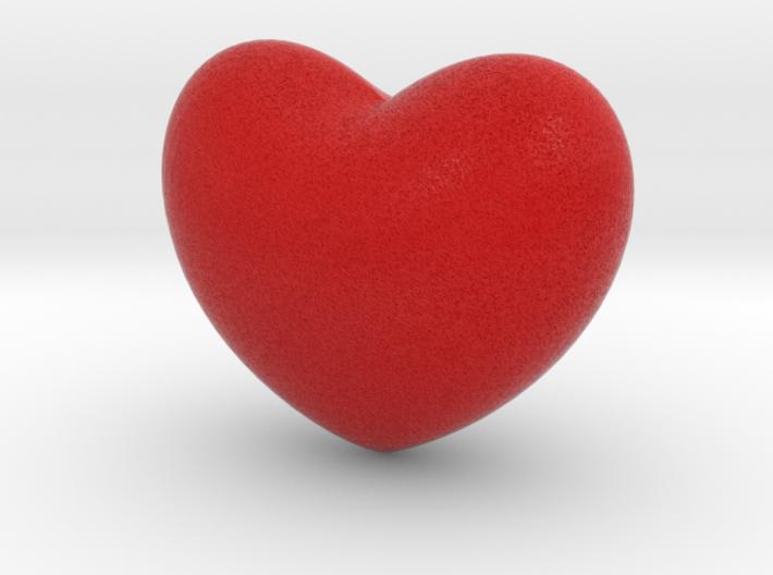 Heart Flair 3d printed