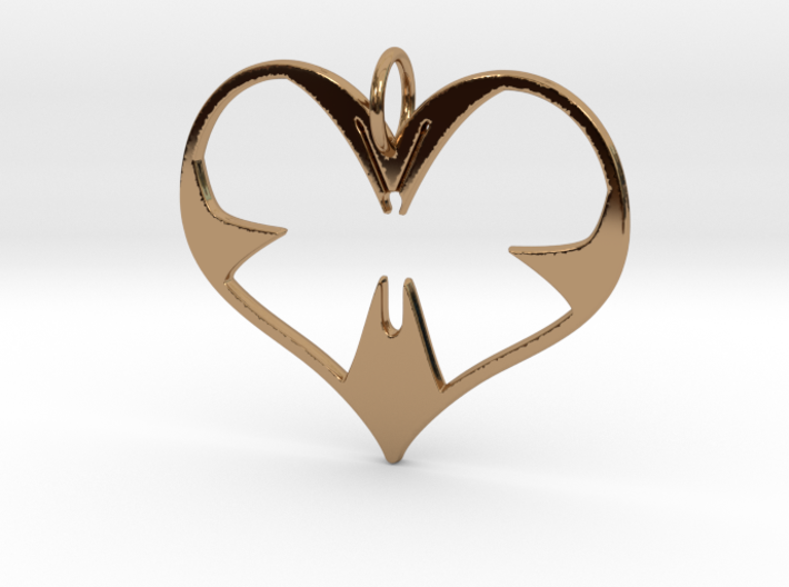 Butterfly Heart 3d printed