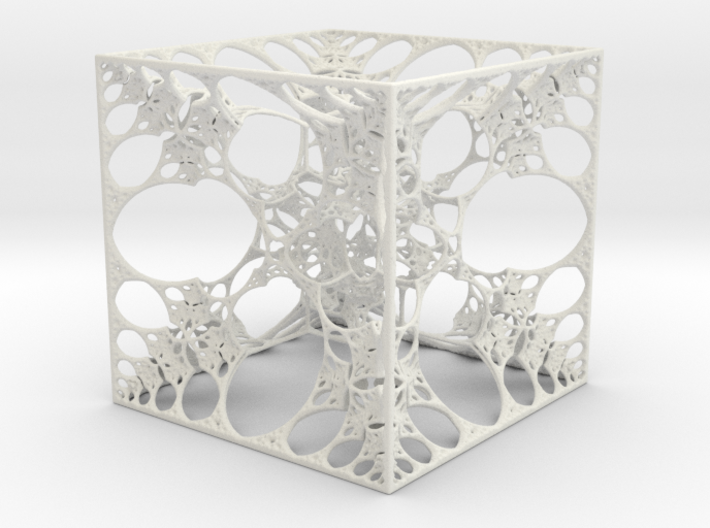 Snowflake Cube 3d printed