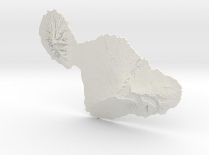 Maui, 1:250000, Navigator Series 3d printed