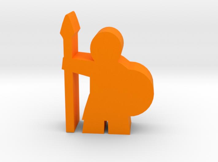 Game Piece, Spearman 3d printed