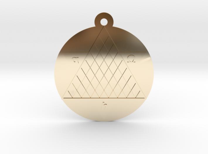 Tetryonics Pendant 3d printed