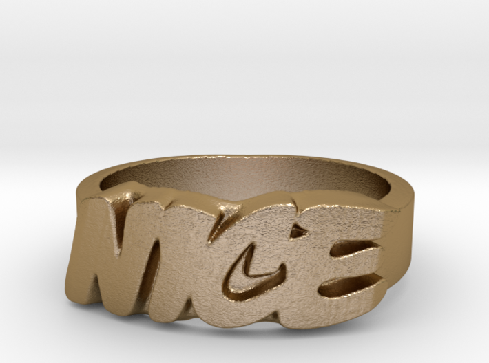 Not Vice Ring - NICE Ring 3d printed