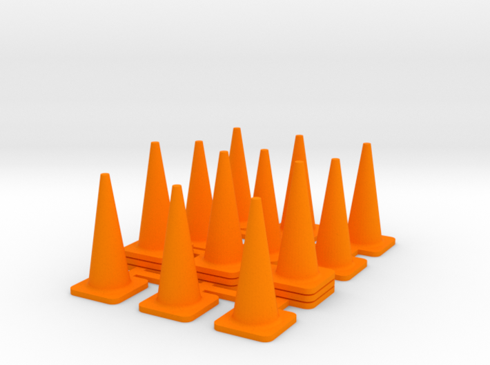 1/50 Traffic Cones 3d printed