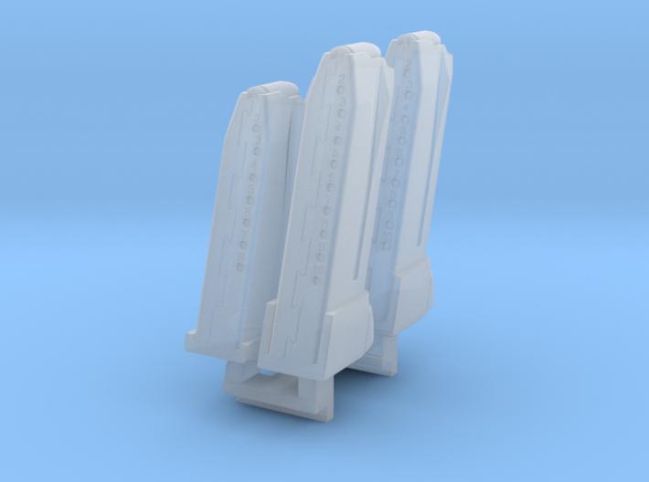 1/6 SPM-6-001-Hk45-04 H&K 45 mags 3d printed