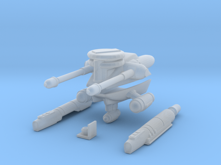 Recon X-Wing Parts 3d printed