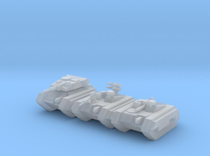 [5] Airborne Armor Platoon 3d printed