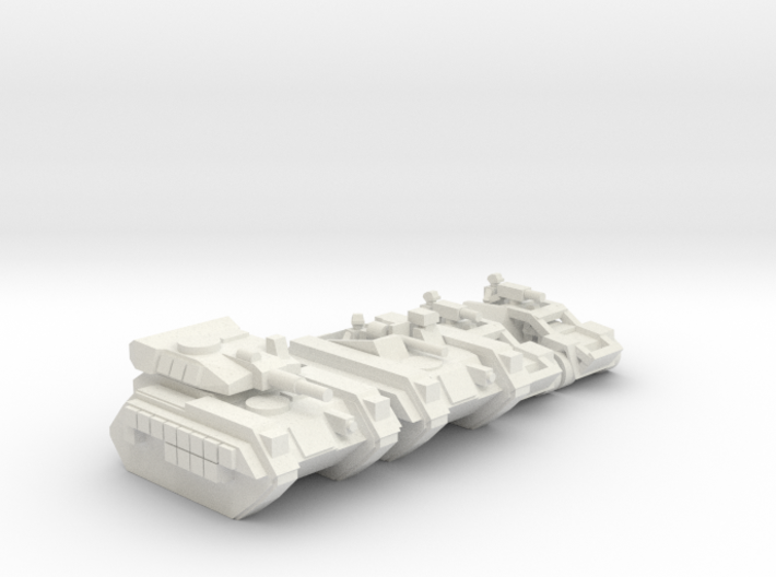 [5] Airborne Armor Platoon 3 3d printed