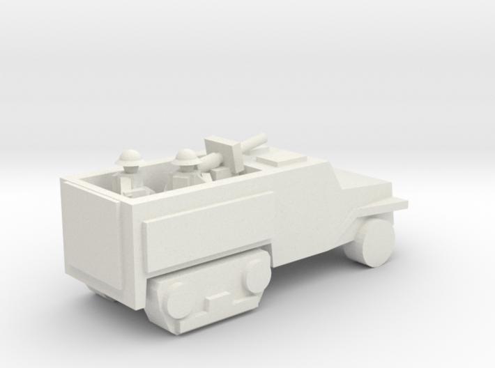 [5] Half-Track (AT Gun) 3d printed