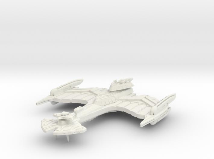 Negh'Var Class BattleCruiser 3d printed
