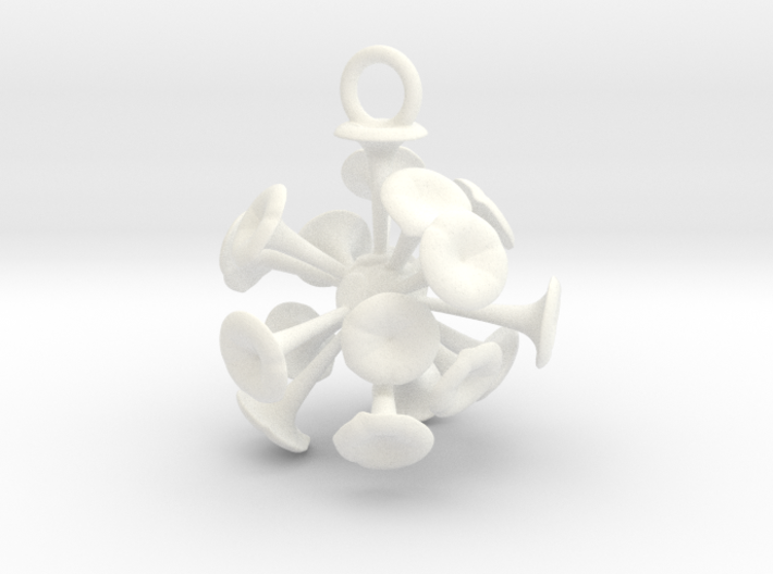 Discosphaera Ornament - Science Gift 3d printed