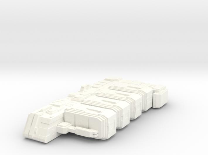 Space Cargo Ship Concept - Messenger 3d printed